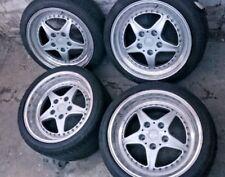 Porsche 911 964 WTL FOLGER CUP 4 9Jx18 ET 52 + 11Jx18 ET 40 + Bereifung 5x130 LK