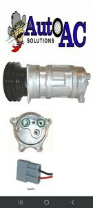 CADILLAC MERCEDES ROLLS ROYCE NEW A C Compressor & double groove clutch
