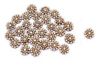 Sewing Rhinestone Floral Applique Craft Dressing 12 PC Appliques Ethnic Handmade