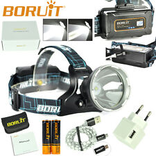 Rechargeable XM-L2 LED Micro USB Headlamp 3 Modes HeadLight Torch+18650+Charger