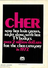 1977 ADVERT Mego Co Cher Doll Hair Grows Fashion Doll Advertising