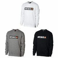 Nike Just Do It Crew Sweatshirt Mens Sweater Top Jumper