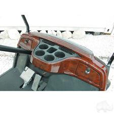 Yamaha drive Golf cart custom dash woodgrain  dash-0077 /locking glove box's
