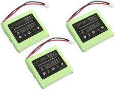 3 X TELEFON AKKU für MEDION MD81877 MD82772 MD82877 DECT Aldi Batterie Accu X073