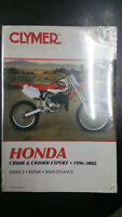 New Clymer Honda Service Manual CR80R & CR80RB Experpt 1996-2002 M435