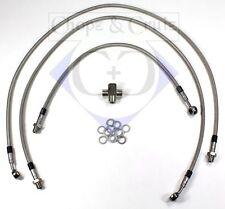 Bremsleitung - Stahlflex - Suzuki M/VZR 1800 Intruder - 3-teilig - Vorderachse