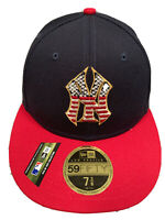 Brand New NEW YORK YANKEES NEW ERA 59FIFTY 4th of July Fitted HAT  size 7 3/8