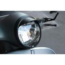 TSR Vespa GTS Headlight Rim Peak/Cap Super/GT Gran Turismo Sport Matte Black