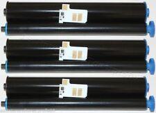 3 ttr x Pellicola di inchiostro per Philips Fax Magic 5 PPF 631 PPF631