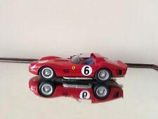 RED LINE MODELS FERRARI 330 LM TRI No. 6 WINNER LE MANS 1962 RARE 1:24 SCALE