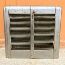 Vintage Heater Furnace Vent Grate Register - Metal - Salvage Original