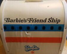 Vintage Mattel BARBIE 1972 FRIEND SHIP UNITED Airline/Plane Case Furniture