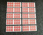 X10 BOOKLETS X120 1st Class Security Unfranked Royal Mail Stamps Self Adhesive