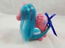 My Little Pony G1 Custom Rehair Ponies movie version Firefly atomic turquoise