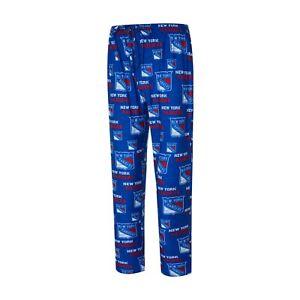 Men's New York Rangers Concepts Sport Royal Zest All Over Print Sleep Pants