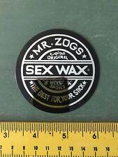 sexwax Black&chrome Sticker Surfing