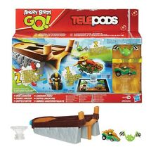 NEW OFFICIAL ANGRY BIRDS TELEPODS DUAL LAUNCHER GAME ANGRY BIRD GAMES