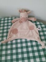 JELLYCAT Gentle Giraffe Soother Comforter Blankie Blanket Plush Doudou Small