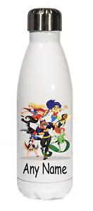 DC Superhero Girls 500ml Personalised Stainless steel Kids Drinks Water bottle
