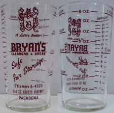 Dyer Indiana Rare c1940/'s Mt Mercy Sanitarium Drinking Glass ~ Lincoln Highway