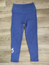 Peloton Nux Seamless Shapeshifter 7/8 Leggings Festive Blue Size Small