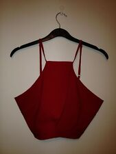 Womens prettylittlething.com red co-ordinate set BNWT Size 12