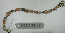 Sorrelli Apricot Agate BDK10AGAP Bracelet  Antique gold tone