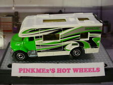 2012 Outdoor Adventure MBX MOTOR HOME∞Green cab/White camper ∞New loose Matchbox
