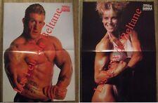 Poster Carole Exbrayat,Dorian Yates  40 x 54  cm,TBE