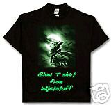 Glow in dark T shirt transfer paper 5 A4 sheets
