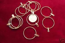 """Wire  Loop Hamilton Gold Plt 1"""" Diameter (Pkg 12) 2109"""