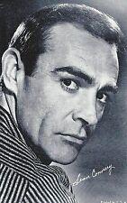 Sean Connery James Bond Penny Arcade Card 3 x 5 post Movie TV Star promo 1960s