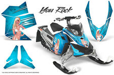SKI-DOO REV XP SNOWMOBILE SLED GRAPHICS KIT WRAP DECALS CREATORX YRBLI