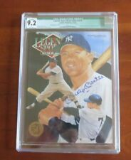 1993 Mickey Mantle Signed Auto Sports Legends Magazine Beckett LOA CGC 9.2 NM/MT