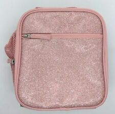 POTTERY BARN KIDS ~ MACKENZIE CLASSIC LUNCH BAG BOX ~ PINK GLITTER