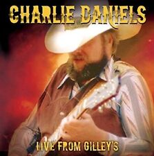 CHARLIE DANIELS - LIVE FROM GILLEY'S 1987, TEXAS (NEW/SEALED) CD Live