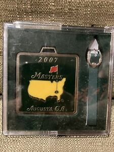 2007 Masters golf bag tag from Augusta