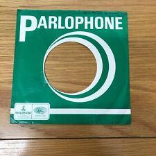 "One 7"" -- Parlophone -- Original Record  Sleeve   1aa"