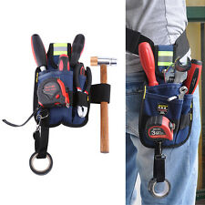 Professional Electrician Tool Bag Utility Convenient Work Pouch Pocket Holder