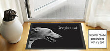 61cmx40.6cm gris chien de chasse design noir brouillon DESSIN Porte d'entrée