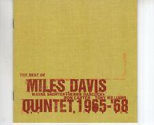 CD MILES DAVIS QUINTETthe best of 1965 - 68COLUMBIA EX+  (R1796)