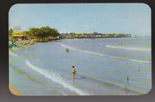 FOREIGN Veracruz MEXICO Villa del Mar Beach Postcard