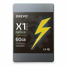 DREVO X1 Series 60 GB SSD Solid State Drive MLC SATA III ( 3 ) 60GB - New Sealed