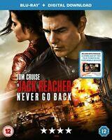 Jack Reacher Never Go Back Movie Blu Ray NEW Gift Idea Tom Cruise Film