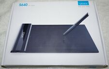 """VEIKK S640 Graphic Art Tablet Drawing Pad With Digital Pen Ultra Thin 6X4"""" NEW"""
