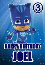 Pj Masks Birthday Card Son