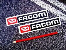 Facom Autocollant / Stickers Casque Moto Voiture F1 Mans Moto Gp Btcc