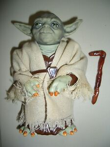 """STAR WARS SUPER ULTRA RARE LOOSE 6"""" YODA IN MINT COMPLETE CONDITION. C-10+"""