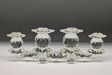 Swarovski Crystal 4 Pin Candle Stick Holder with original box