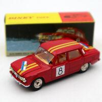 Atlas Dinky Toys 1401 ALFA ROMEO 1600 TI Rally #8 Diecast Models 1:43